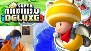 WHERES THE GOAT BLUE TOAD AT?! - New Super Mario Bros U Deluxe [1]