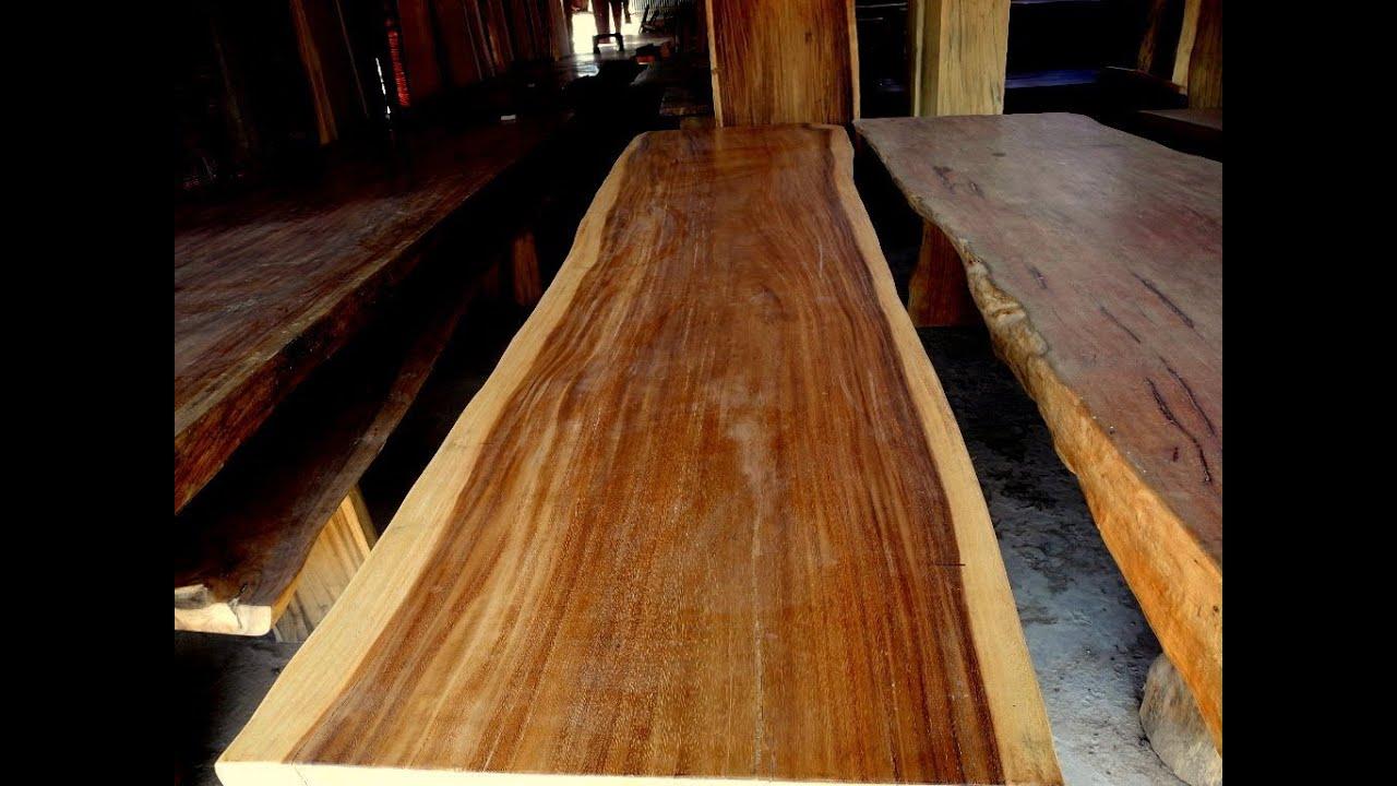 Solid Wood Slab Youtube