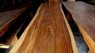 Solid Wood Slab
