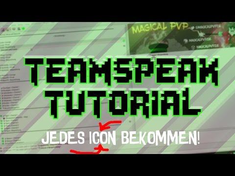 JEDES TEAMSPEAK - 3 ICON BEKOMMEN? EGAL WELCHER TEAMSPEAK!  TUTORIAL! | Pilzig