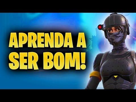 DICAS PARA APRENDER A SER UM BOM JOGADOR! - Fortnite