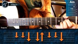 """Cómo tocar """"When I was Your Man"""" de Bruno Mars en Guitarra (HD) Tutorial - Christianvib"""