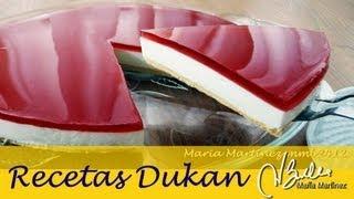 Adelgazar: Tarta De Queso Dukan Tipo Philadelphia (fase Crucero) / Philadelphia Diet Cheesecake