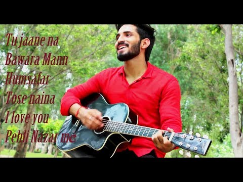 romantic-medley-2017-||-tu-jaane-na-||-bawara-mann-||-humsafar-||-tose-naina-||-i-love-you