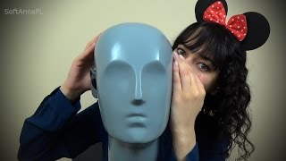 Binaural ASMR Relaxing Words Whispering in Polish with Mouse Anna I Straight to Your Ears