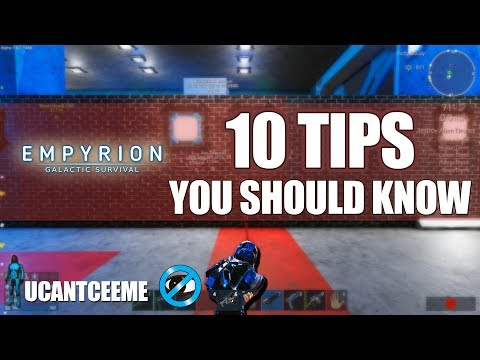 Empyrion Galactic Survival |  TIPS You Should Know Starting Out | Best Beginner Advice | Ep.