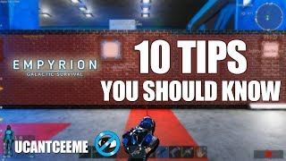Empyrion Galactic Survival | 10 TIPS You Should Know Starting Out | Best Beginner Advice | Ep. 25