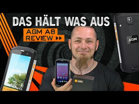 AGM A8 📱 Das Smartphone hält was aus [Review, German, Deutsch]