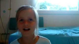 "MGP Emma Askling ""The Climb"" af Miley Cyrus / Hannah Montana Tro på dig selv chestnut avenue 2011"