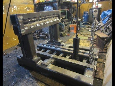 Ciężka frezarka bramowa CNC DIY 3# spawanie korpusu heavy gate milling machine