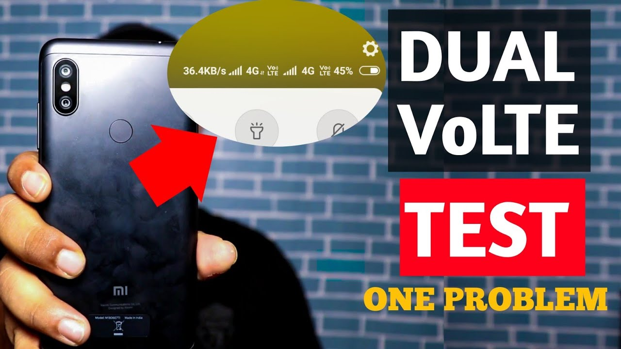 Redmi Note 6 Pro Dual VoLTE support test  Network problems & Internet  problems in Redmi Note 6 Pro
