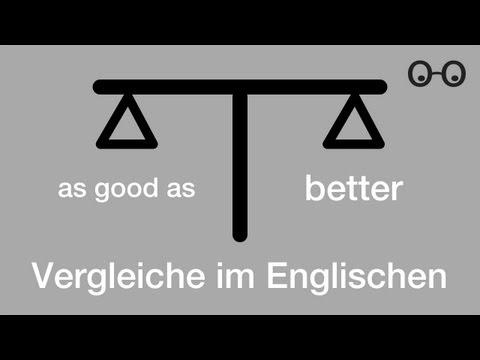 as und than - Vergleiche im Englischen