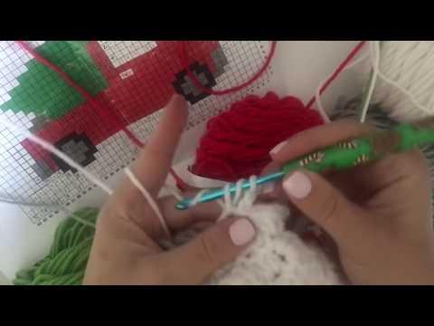 Corner-to-Corner Crochet using the HDC