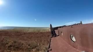 Видео 360. Кладбище кораблей на Аральском море(Видео в формате 360 снято для проекта