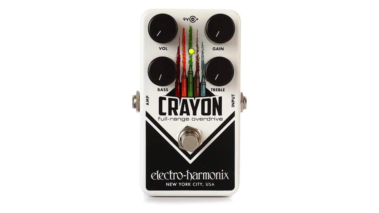 pedal 69 Electro-Harmonix Crayon Full-Range Overdrive