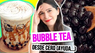 BUBBLE TEA o BOBA MILK TEA: DESMINTIENDO A NINOS HOME - Caro Trippar