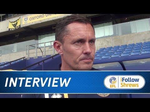 INTERVIEW | Paul Hurst post Oxford - Town TV