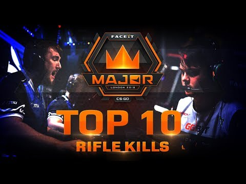TOP 10 Rifle kills of FACEIT London Major