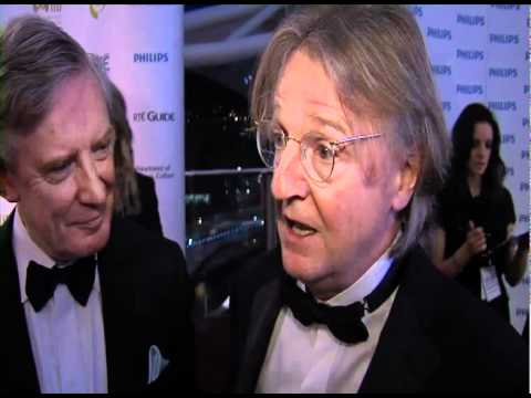 The Tudors writer Michael Hirst Interview Backstage at the IFTAs - 2011