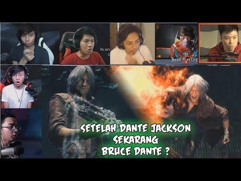 Reaksi Gamer Saat Dante Menjadi Bruce Dante #DanteCosplayer | Devil My Cry V Indonesia |