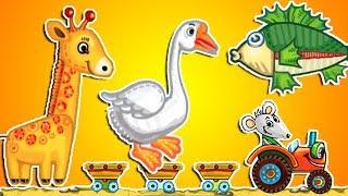 Мультик про зверей. Азбука. Мультик про животных. Азбука мультфильм. Азбука для детей учим буквы.