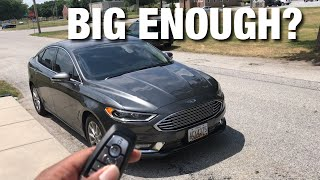 Big & Tall Review: 2017 Ford Fusion SE w/ Luxury & Tech Package