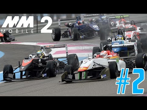 Motorsport Manager Mobile 2 Career Mode - Part 2 LAST CORNER DRAMA!