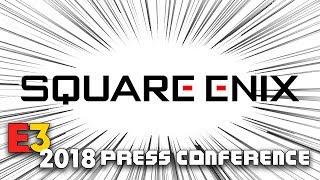 FULL SQUARE ENIX PRESS CONFERENCE [E3 2018] - LIVE REACTION w/runJDrun