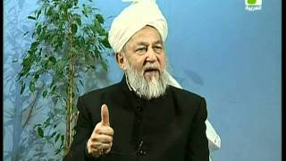 Liqa Ma'al Arab 25 March 1998 Question/Answer English/Arabic Islam Ahmadiyya
