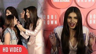 WATCH Hot and Sexy Tara Sutaria Reveal her Crush | Bobbi Brown Indi...