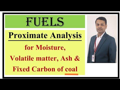 Proximate Analysis Of Coal I Determination Of Moisture, Volatile Matter & Ash In Coal