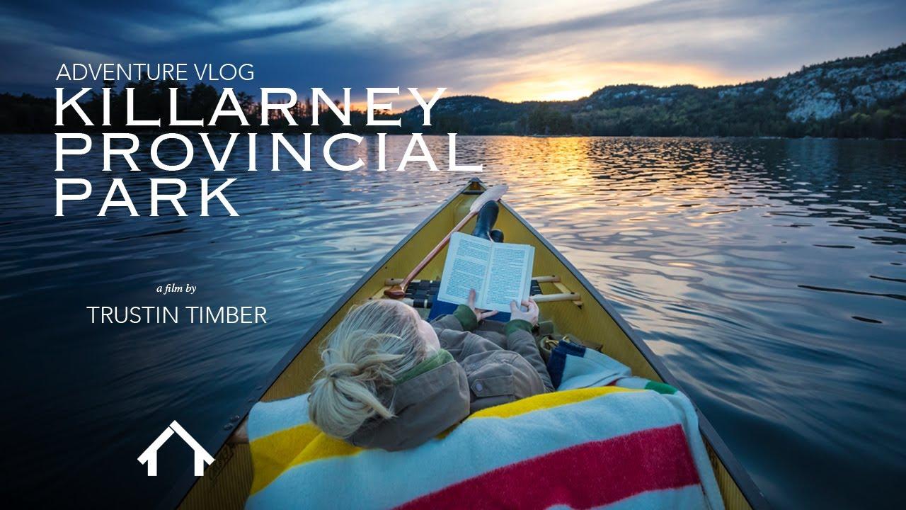 Canoe Trip - Killarney Provincial Park [ Adventure VLOG ]