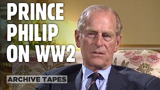 Prince Philip: The War Years - Duke Of Edinburgh On Serving In WW2 • FULL 1995 INTERVIEW
