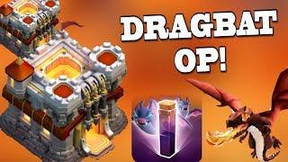 DRAGBAT OP vs MAX TH11 Base! | Electro Dragon OP vs TH11! Clash of Clans