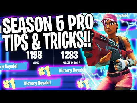BEST FORTNITE TIPS TO WIN MORE GAMES! (Season 5 Ep. 3 Tips & Tricks)