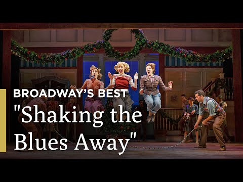 "Holiday Inn Cast Jump Rope and Tap Dance in ""Shaking the Blues Away"""