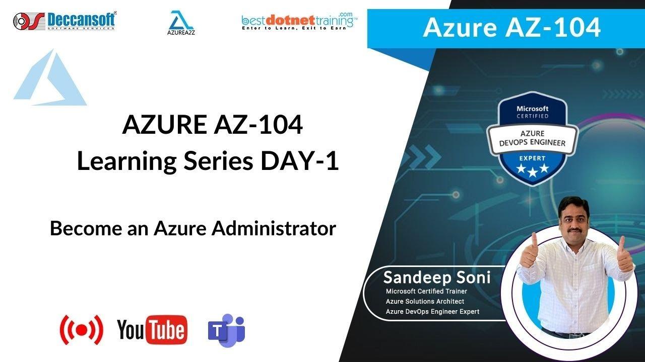 AZ-104 Tutorial Day-1   Azure Virtual Networking   Overview of VNet, Subnet, NSG, DNS
