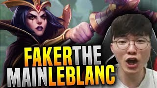 Faker is Ready to Main the New/Old Leblanc! - SKT T1 Faker Plays Leblanc Mid!   SKT T1 Replays