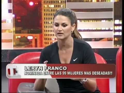 Leryn Franco en Teleshow - Habla sobre sus fotos en Miami