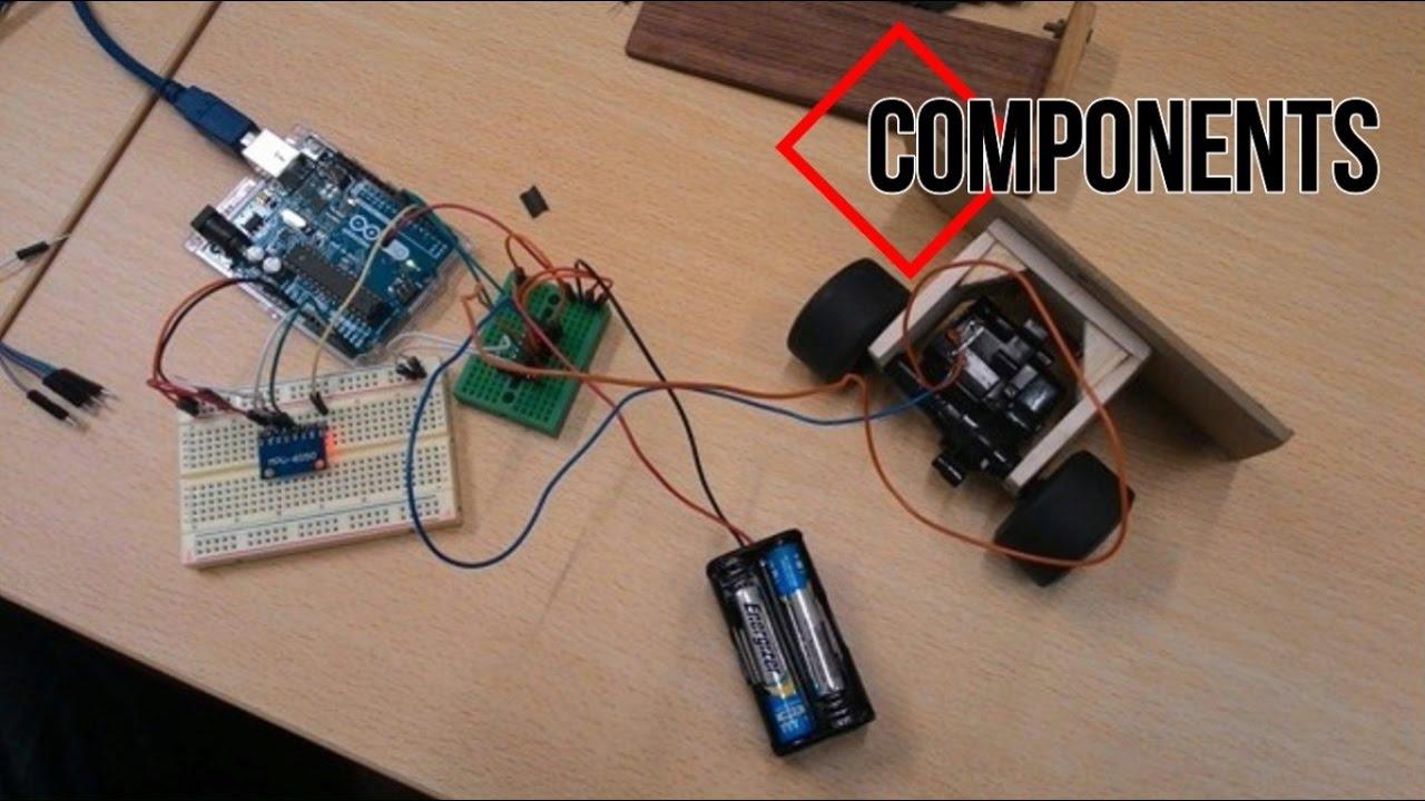 Self Balancing Robot with Arduino, MPU6050 sensor [PID Control]