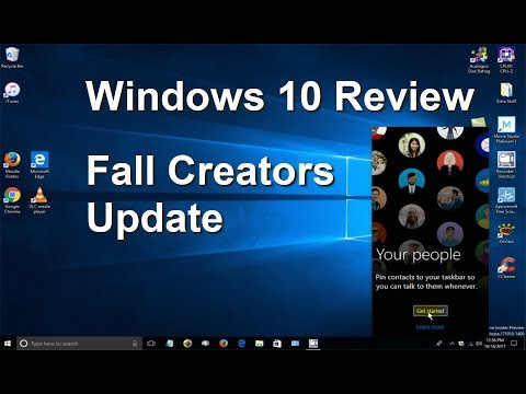 Windows 10 Fall Creators Update Preview/Review: What's New?