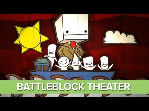 BattleBlock Theater Opening Cinematic - Funny Intro - Stamper