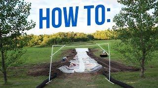 HOW TO |  350 ft Slip N Slide