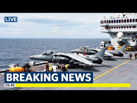 Here's Cavour 550 aircraft carrier | Italian aircraft carrier | the flagship of the Italian Navy