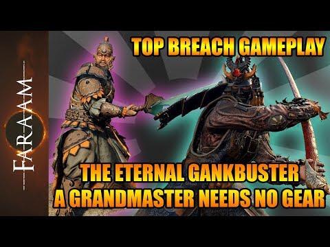 Eternal Gankbuster - A Grandmaster needs NO GEAR - Top Breach Gameplay [For Honor]