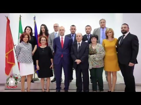 L'inaugurazione della nuova Sede del Consolato Generale d'Italia a Valona