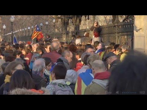 Directo: Concentración independentista ante el Parlament de Catalunya