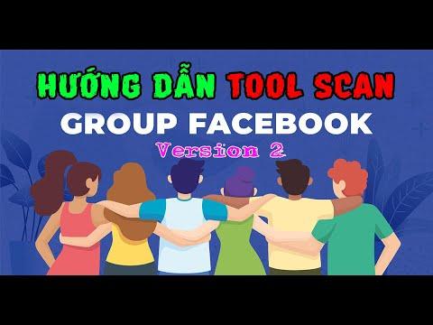 cách hack làm quản trị viên trên facebook - Hướng Dẫn Scan Group Facebook No Admin V2 | Góc IT