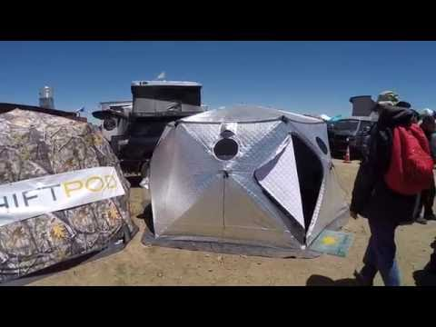 shift pod - desert environment shelter :Overland Expo 2016