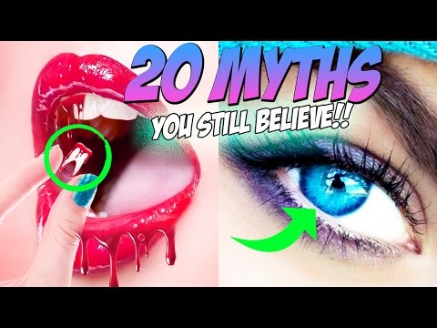 Thumbnail: 20 MYTHS You Still Believe But SHOULDN'T!!